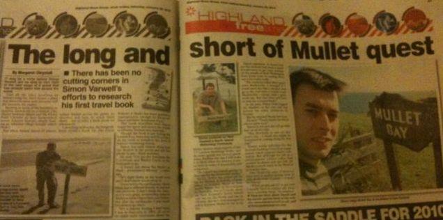 Highland News article