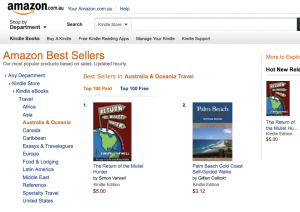 amazon.com.au travel bestseller list