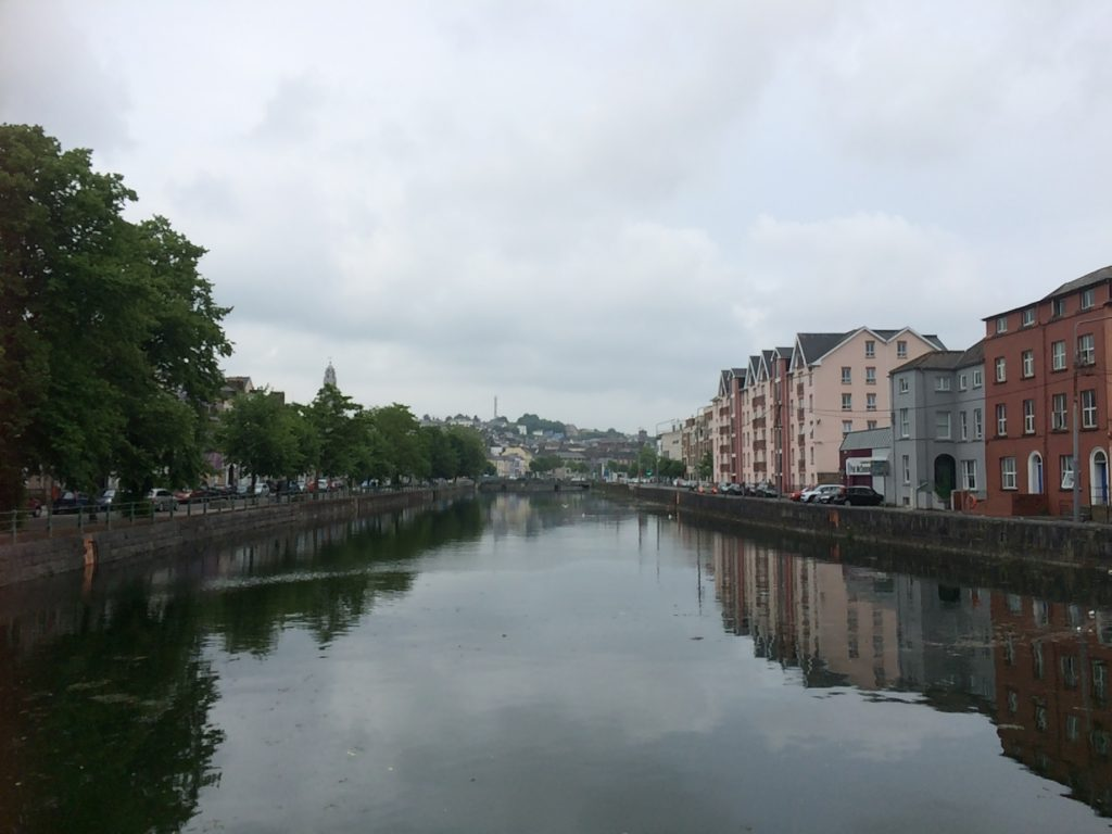 Cork riverside