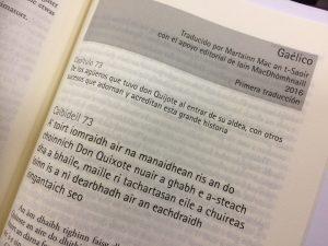 Don Kiĥoto en la gaela lingvo